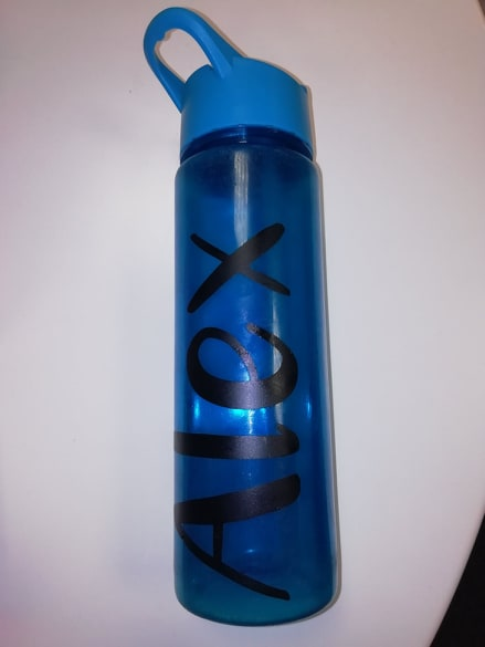 Alex Personalised Drinks Bottle Bourne