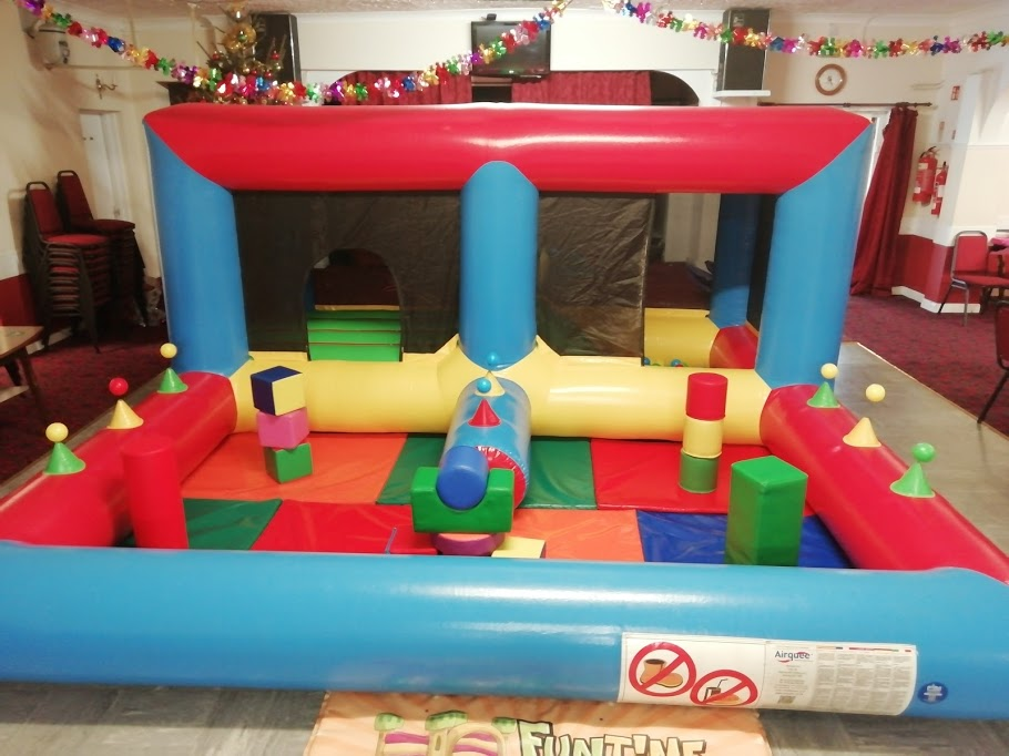 Bouncy Castle At Spalding Social Club