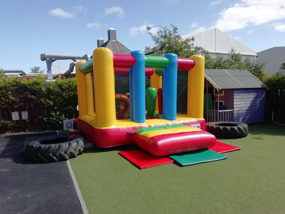 Bouncy Castle At Busy Bees in Bourne