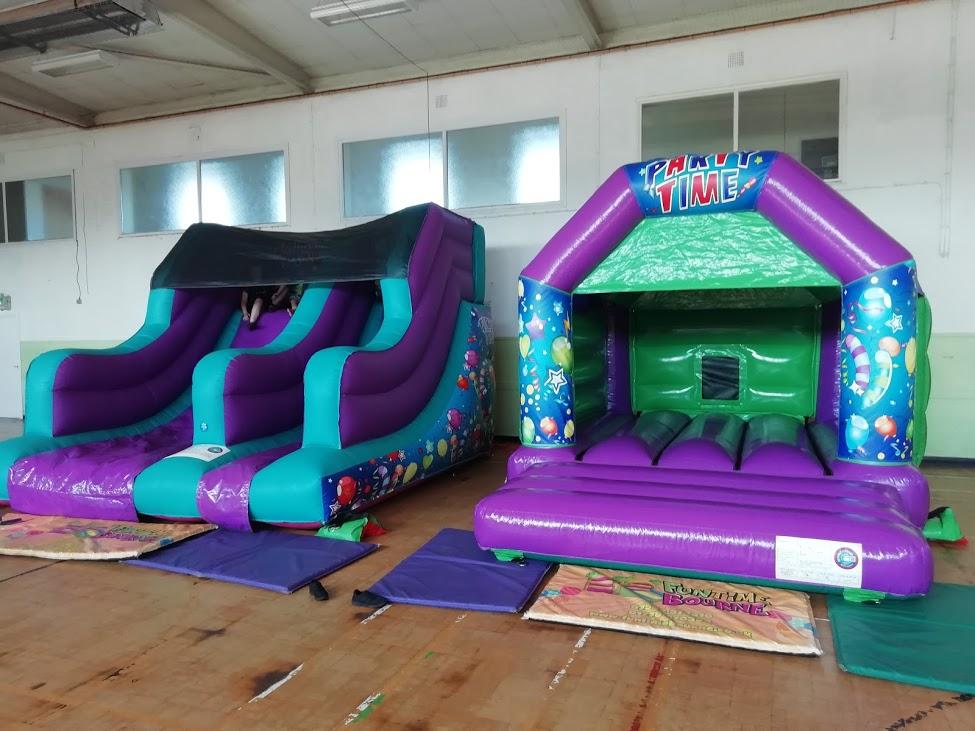 Bouncy Slide Hire In Peterborough