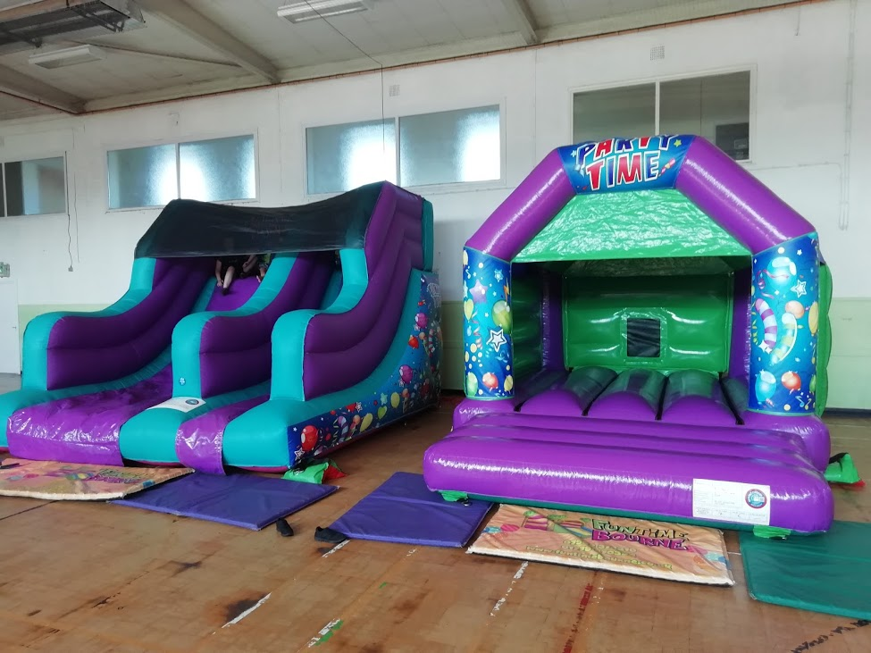Bouncy Castle Hire At The Focus Centre In Dogsthorpe, Peterborough