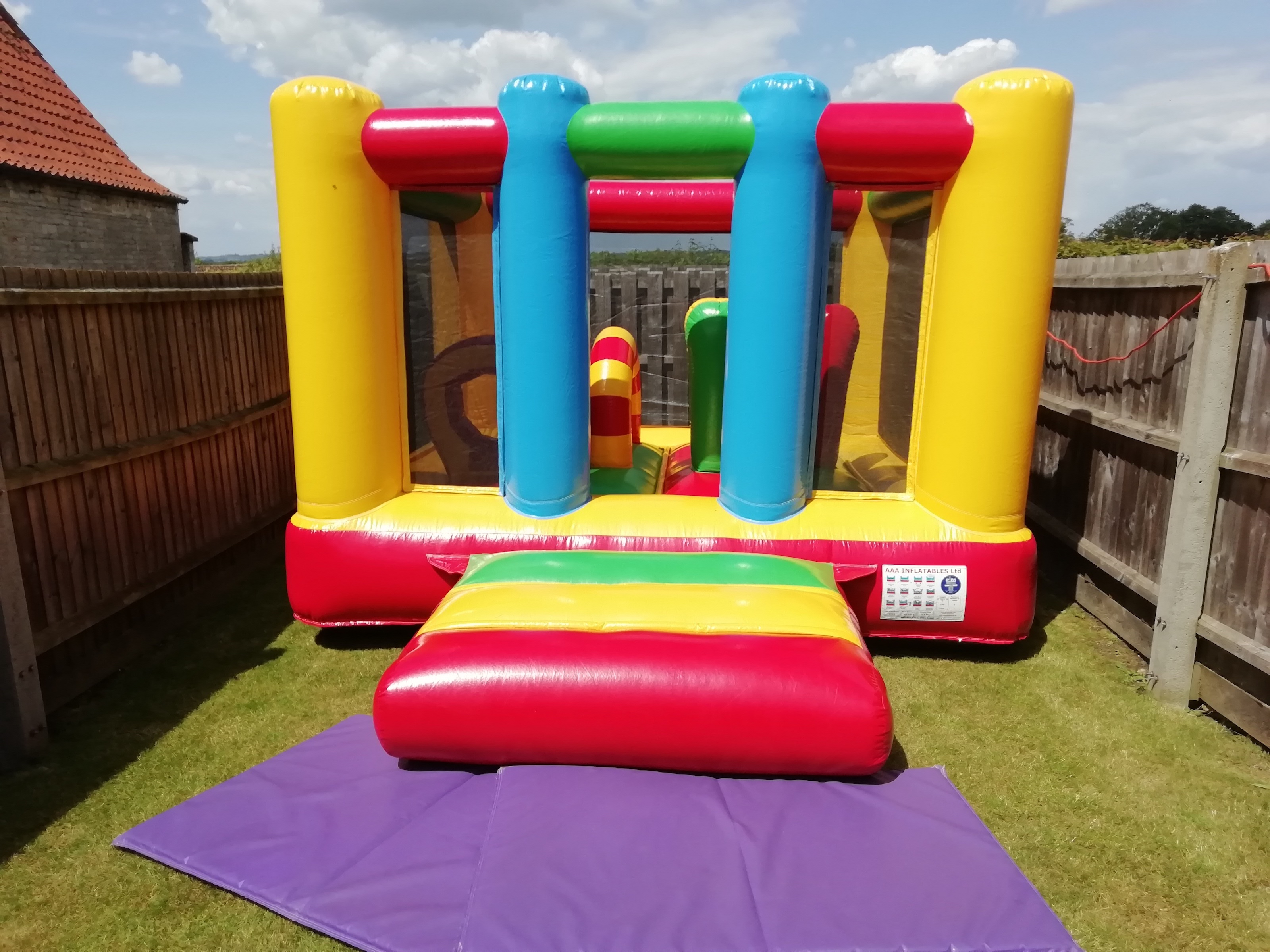 Bouncy Castle Hire In Buckminster Village Hall
