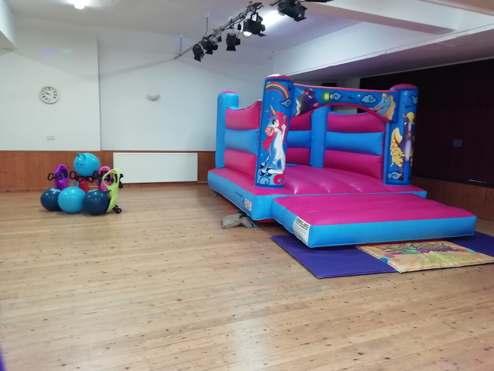 Bouncy Castle Hire In Ryhall Village Hall