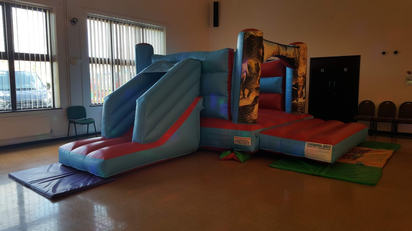 Bouncy Castle In Paston Community Centre