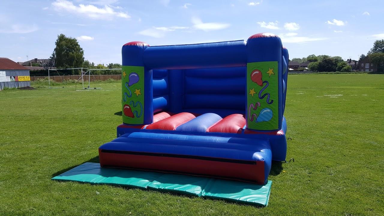 Bouncy Castle Peterborough - Small Balloons Bouncy Castle