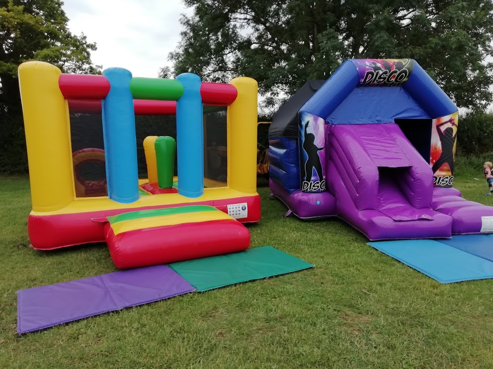 Bouncy Castles At Corby Glen Pre-School Near Bourne