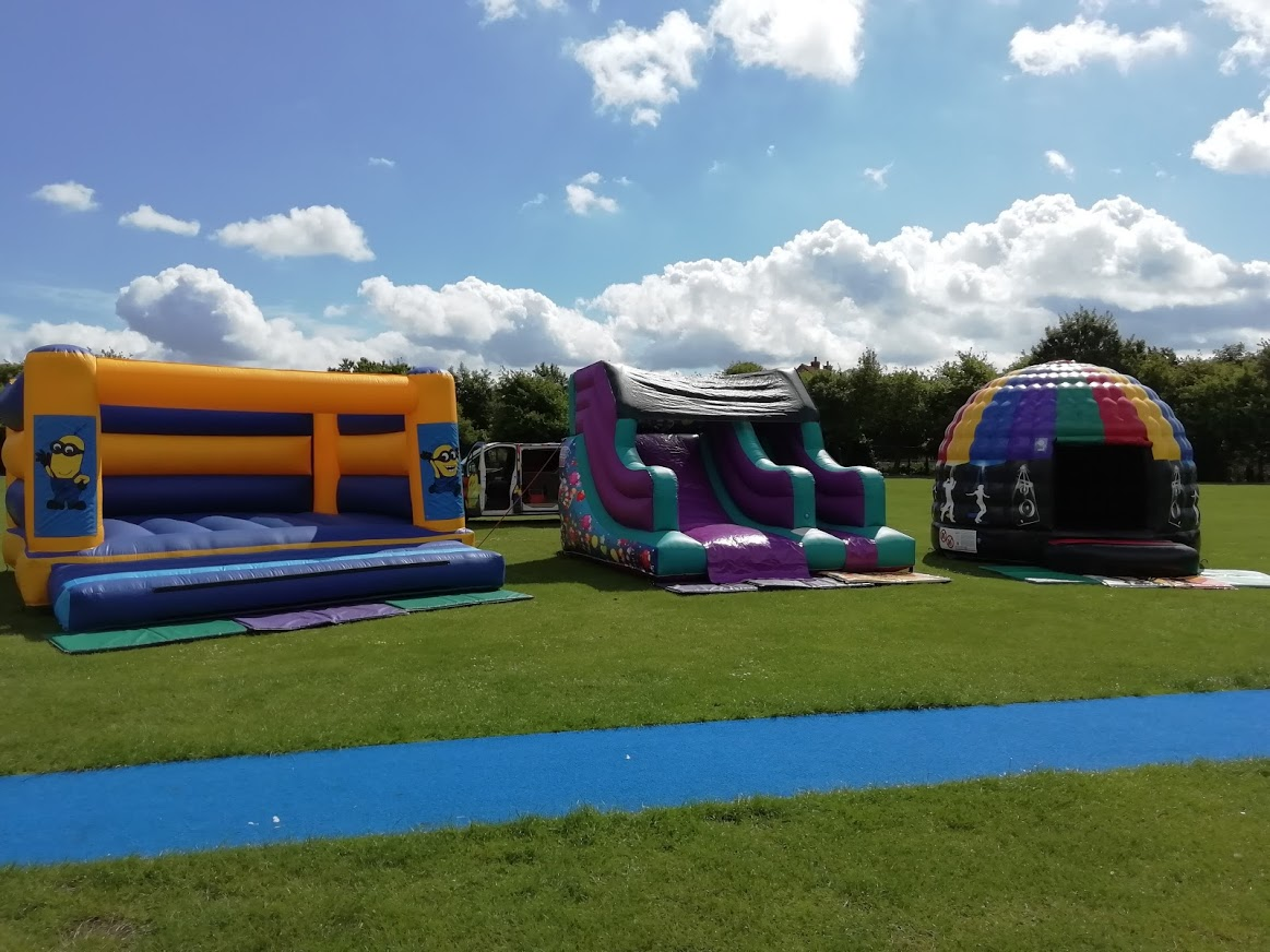 Bouncy Days At St Johns School Spalding