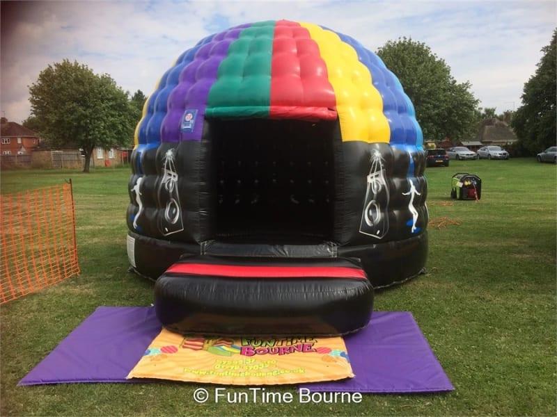Christmas disco dome hire
