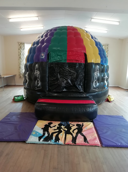 Disco Bouncy Castle Hire In Bourne