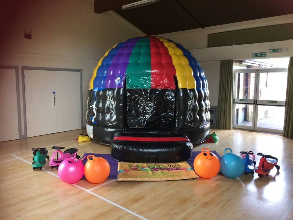 Disco Dome Bouncy Castle Hire In Bourne