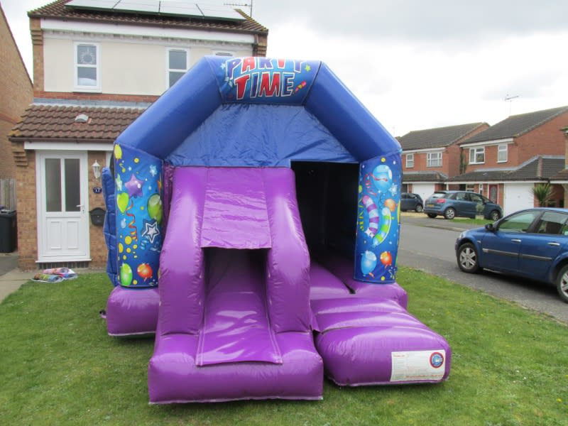 Disco Bouncy Castle Hire In Peterborough