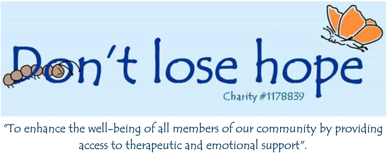 Don't Lose Hope Mental Health Charity Bourne