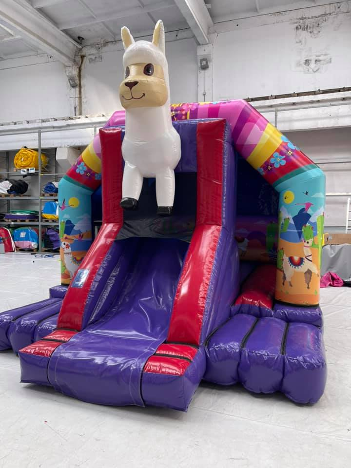Drama Lama Bouncy Castle In Peterborough