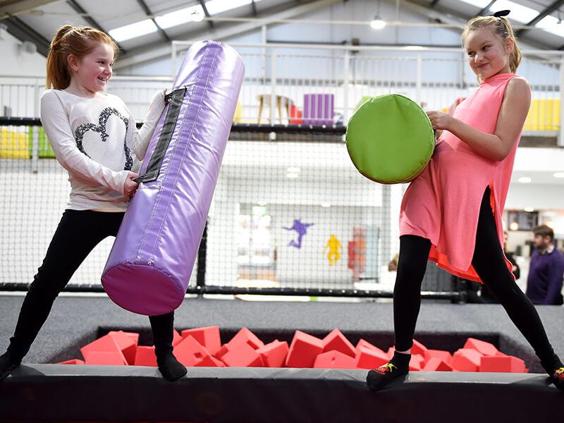 Gladiator Duel At Jump Revolution Grantham
