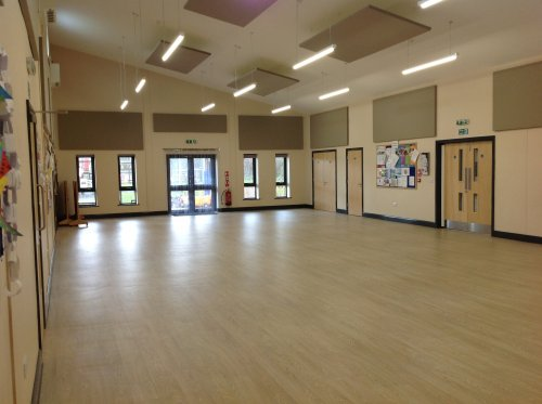 Great Gonerby Memorial Hall Inside