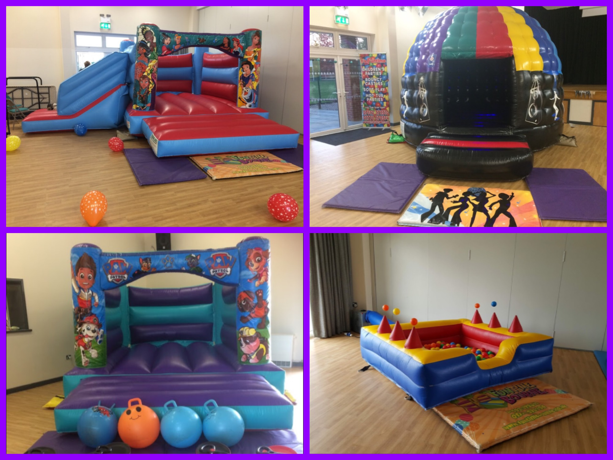 Bourne Elsea Park Community Centre Castles