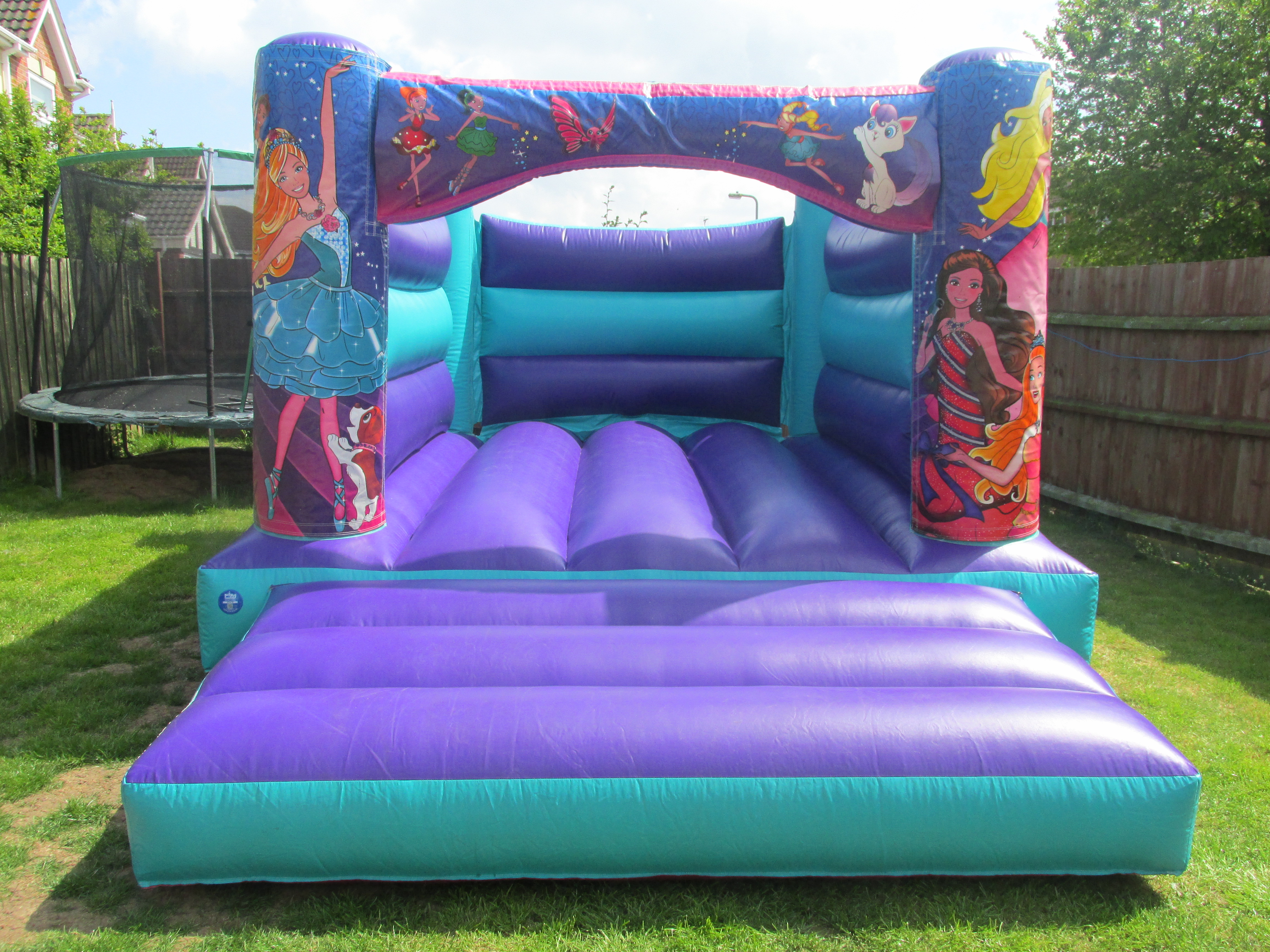 Beautiful Barbie Themed Bouncy Castle Hire In Bourne, Spalding And Peterborough