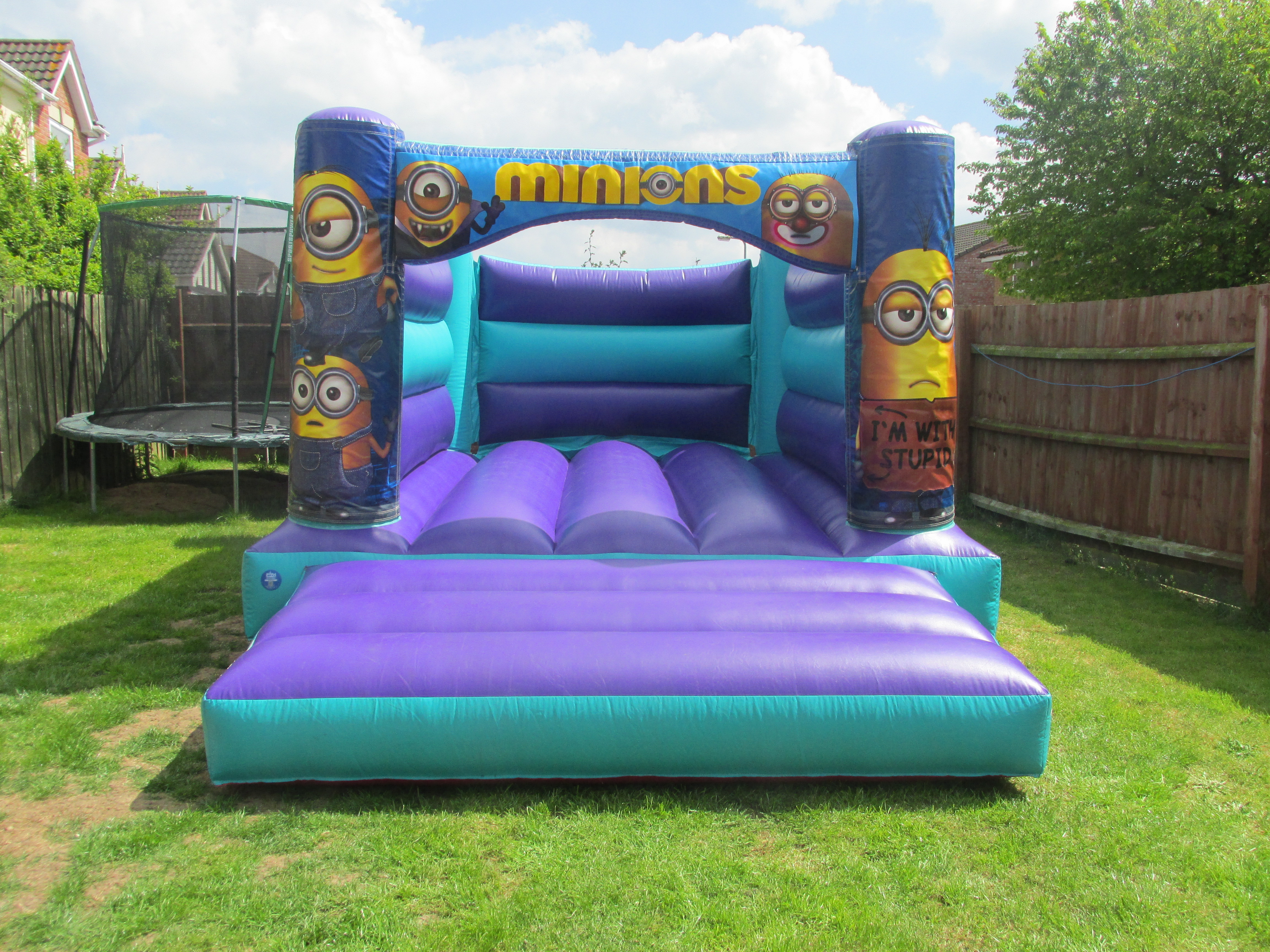 Minions Themed Bouncy Castle Hire in Peterborough, Bourne and Spalding