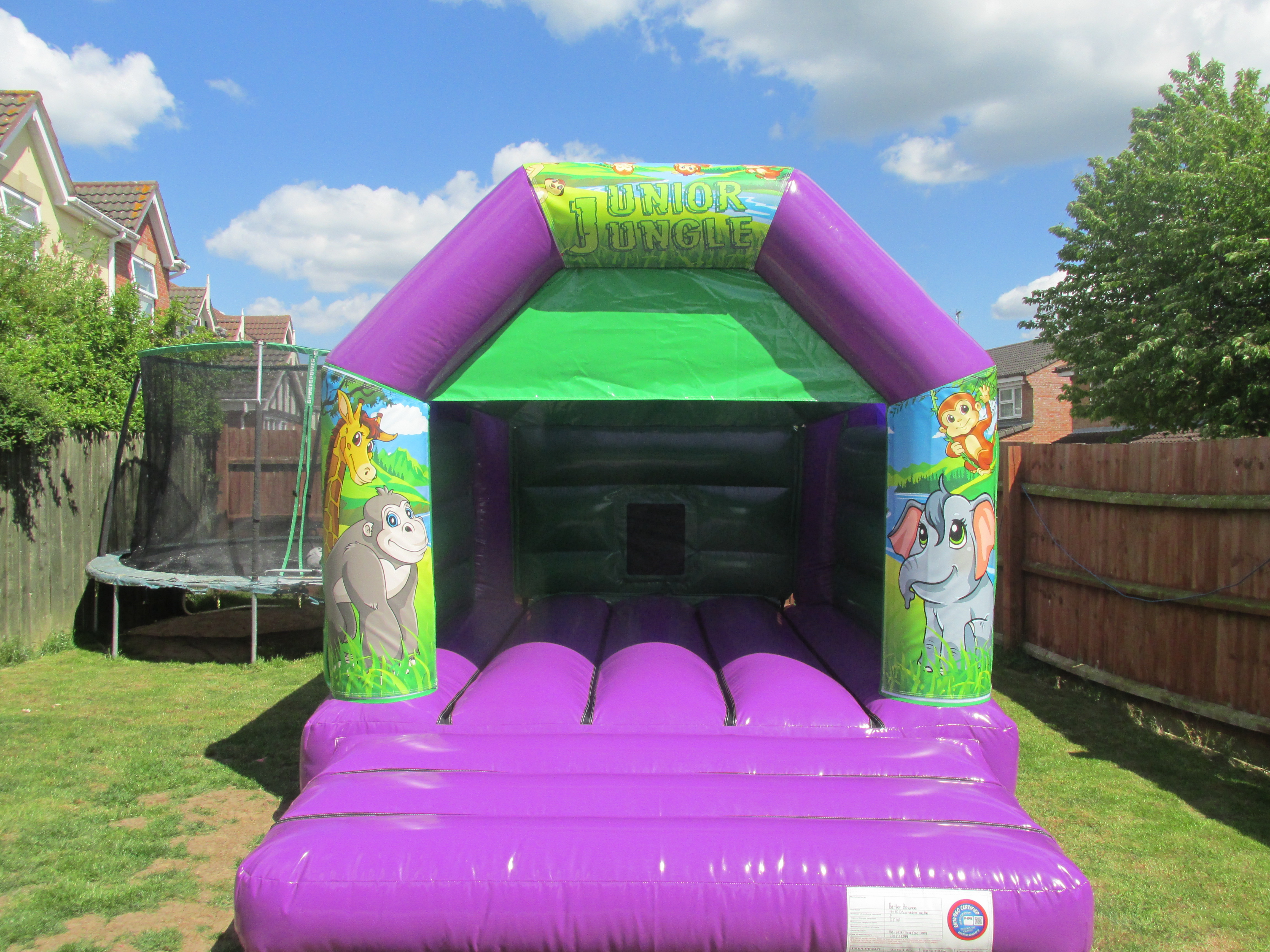 Amazon bouncy castle hire in Peterbrorough