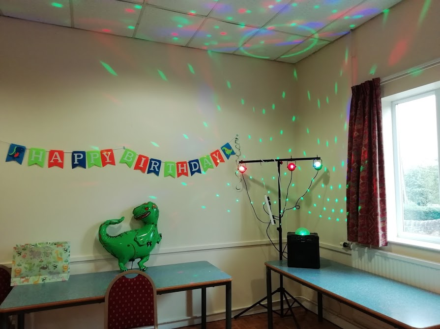 ION House Party Rocker With Disco Lights At Folkingham Village Hall
