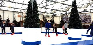 Ice Rink At Waterside garden centre