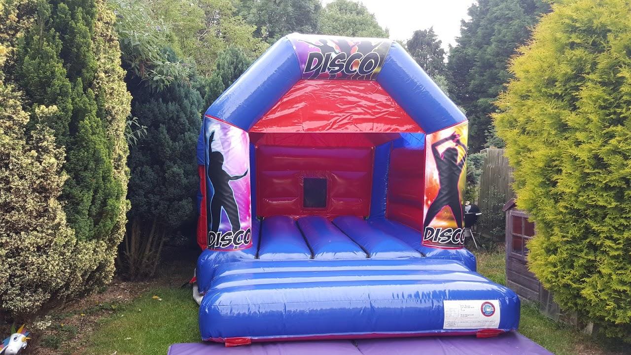 Disco Bouncy Castle In Spalding