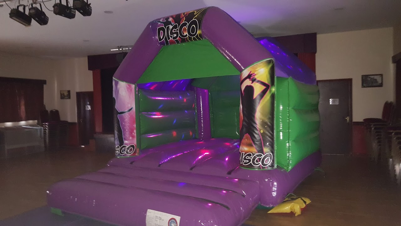 Inflatable Disco Hire In Bourne