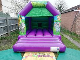 Jungle bouncy castle rental in Peterborough