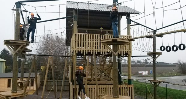 Kids activities in Spalding - Spalding High Ropes