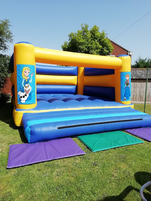 Large Events Bouncy Castle Hired By Warners PLC