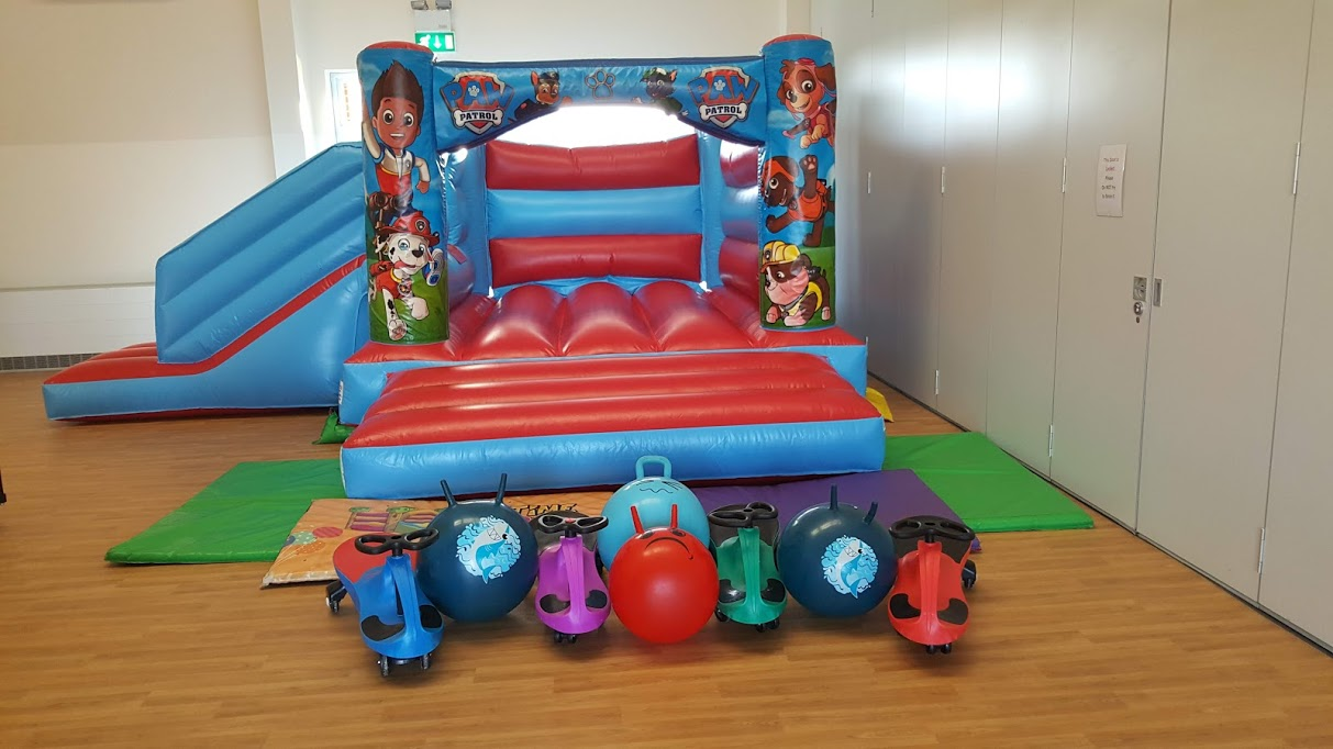 Pups Bourne Bouncy Castle Party Lincolnshire
