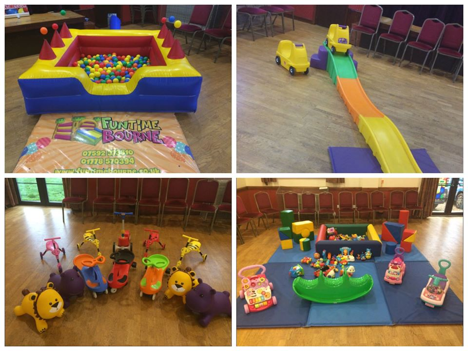 Soft Play Party In Pinchbeck Village Hall