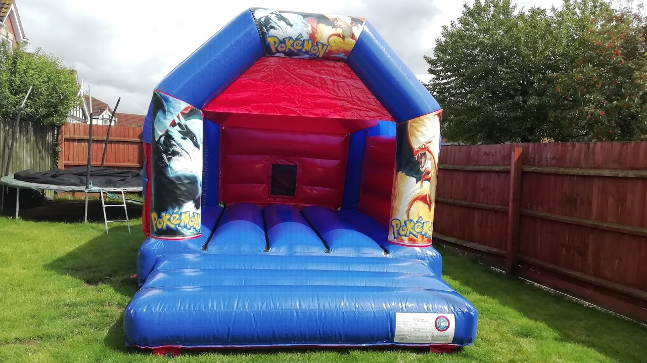 Spalding Bouncy Castles - Pokemon bouncy castle