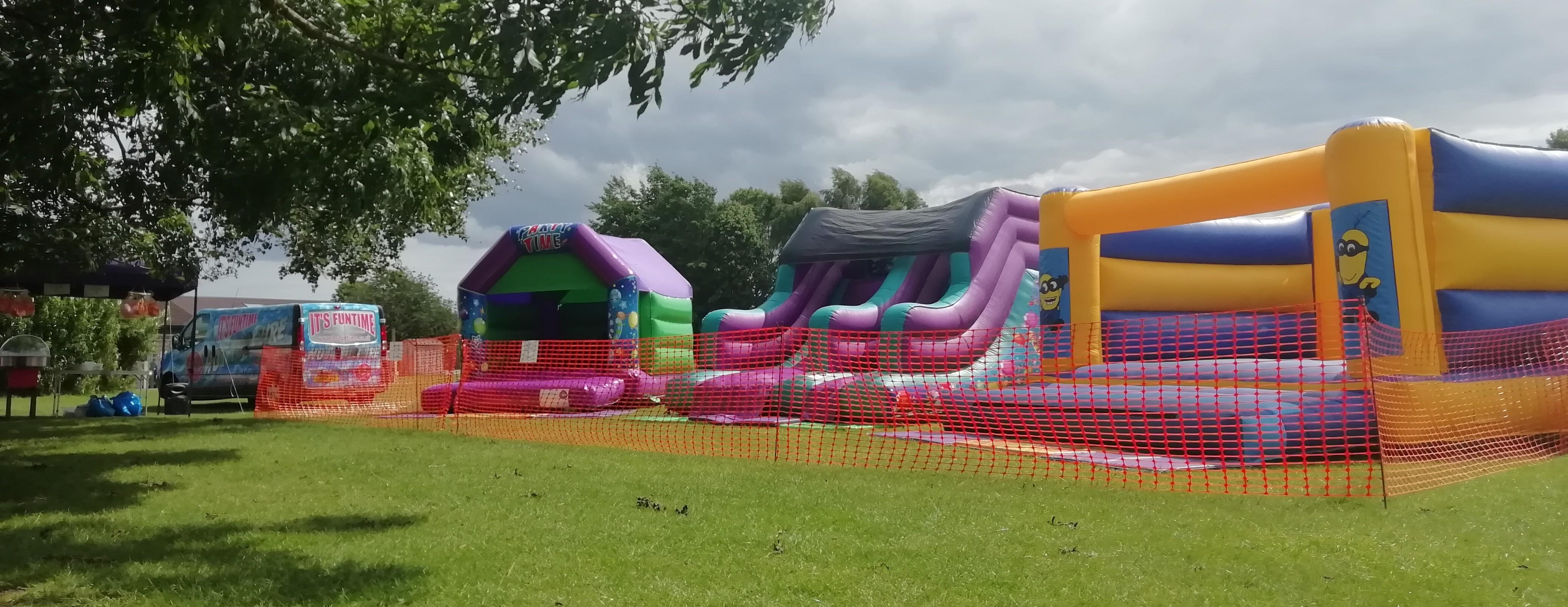 Spalding Parish Day School Bouncy Castle Hire Spalding