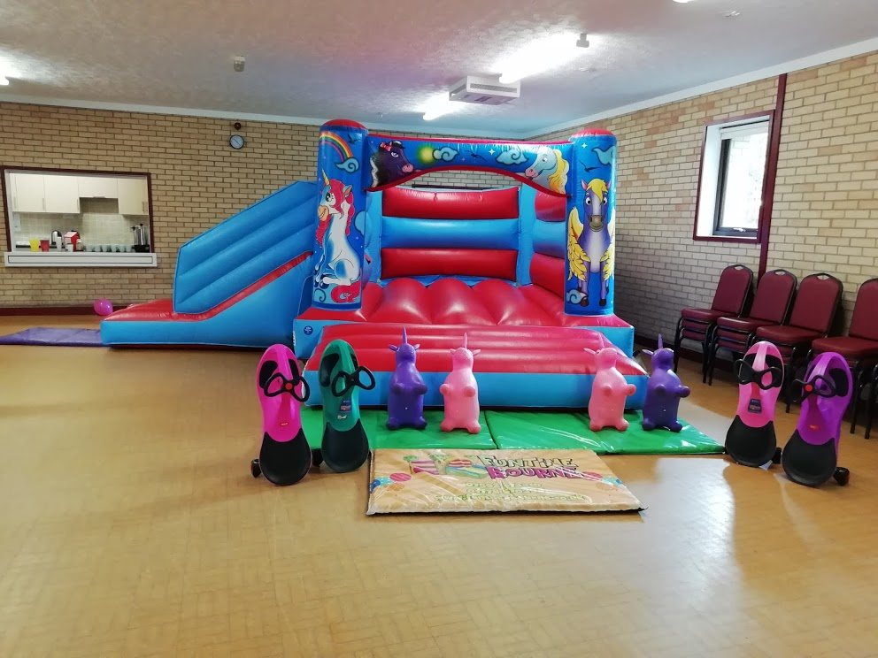 Unicorn Bouncy Castle Party In Cowbit, Spalding