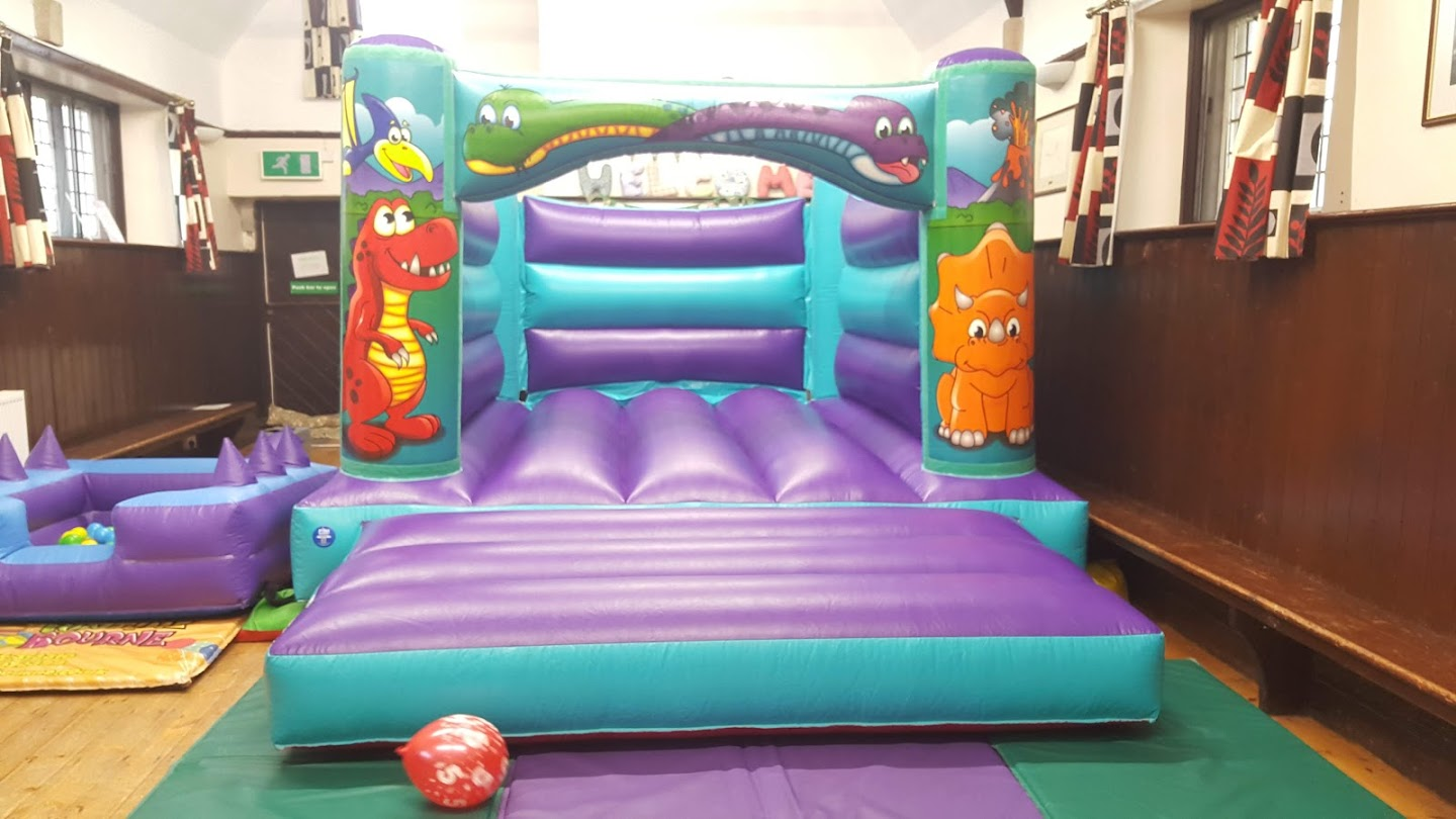 Bouncy Castle and Ball Pool In Uffington Village Hall