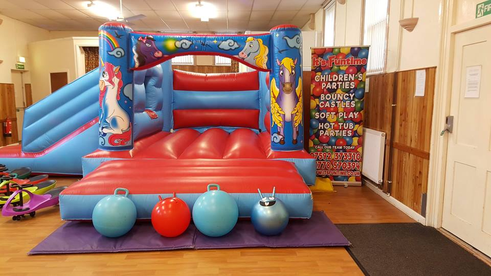 Coronation Hall Market Deeping Inflatable Hire