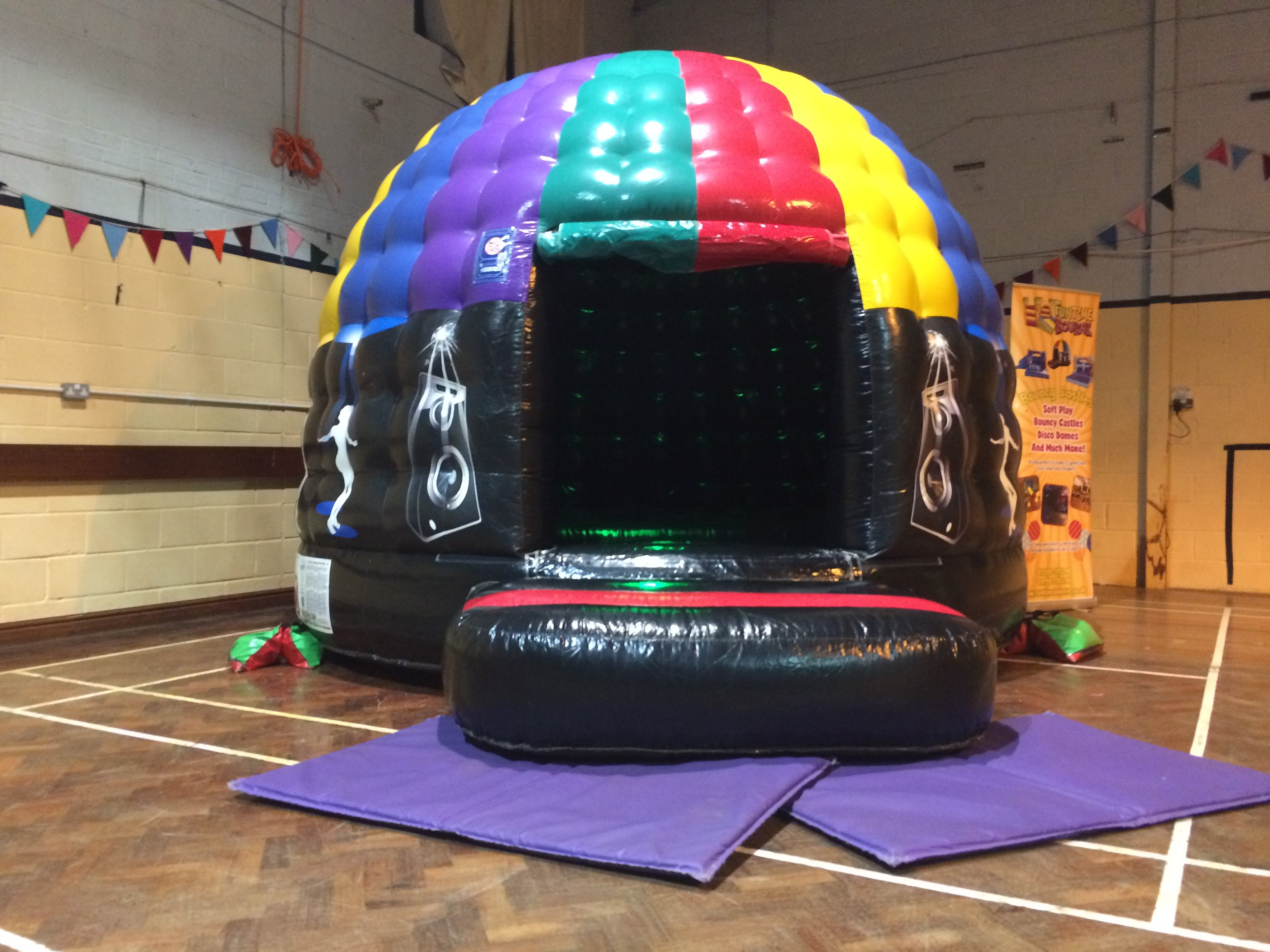 New disco dome party pod for hire in Spalding, Bourne and surrounding areas