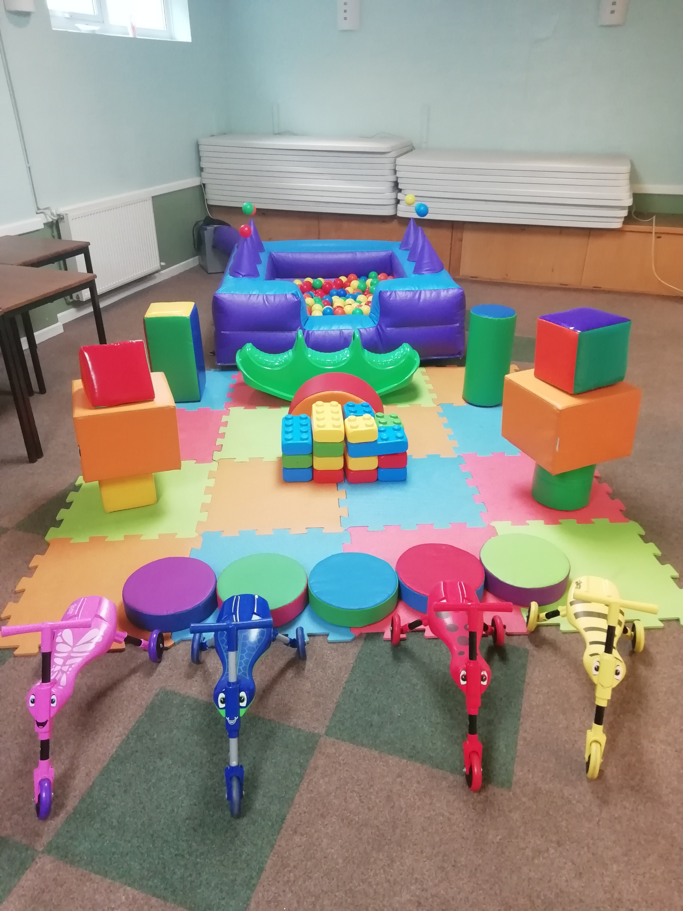 Bourne Red Hall Soft Play