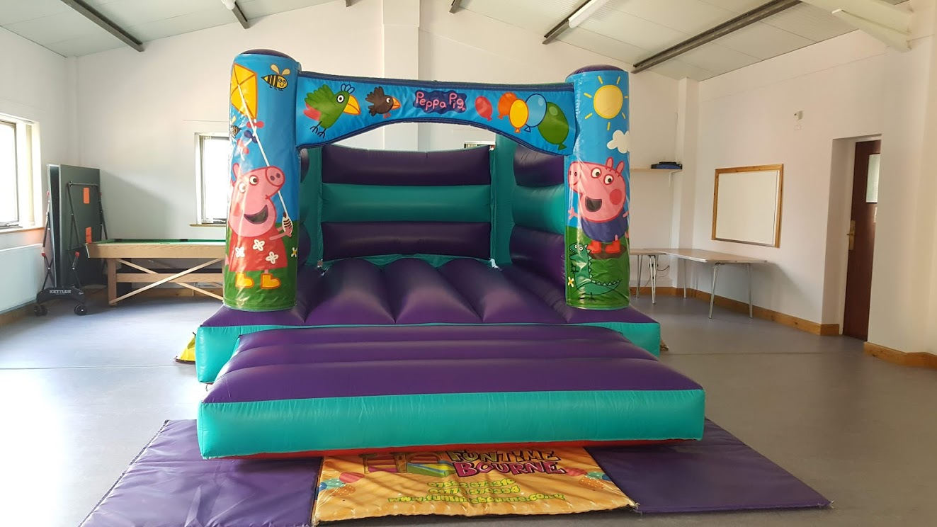 Pepper Pig Bouncy Castle Hire In Bourne, Spalding And Peterborough