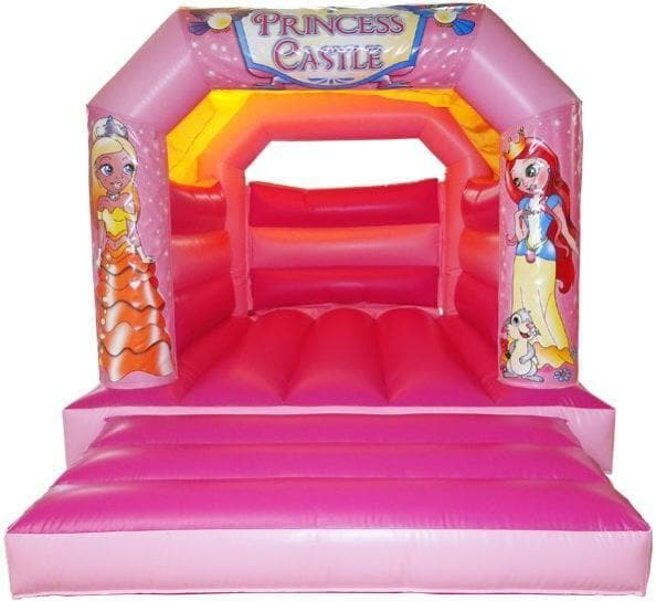 Pink Glitter Princess Bouncer