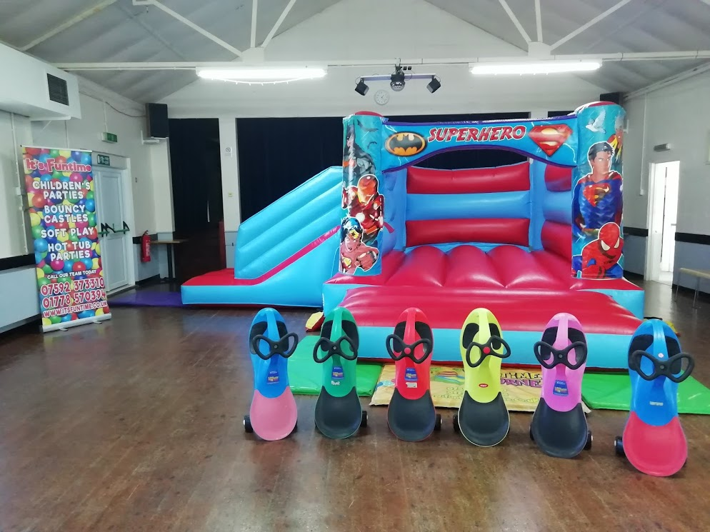 Pointon Village Hall Bouncy Castle Party Hire