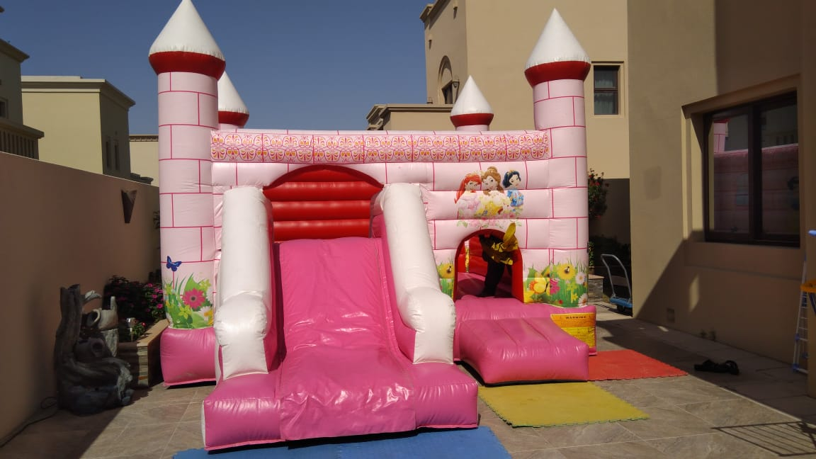 Pretty Pink Princess Bouncer