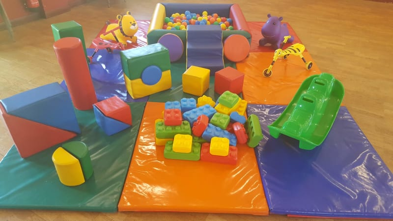 Silver Soft Play Party Hire In Bourne