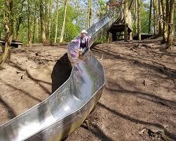 Slide at the spinney in Little Bytham