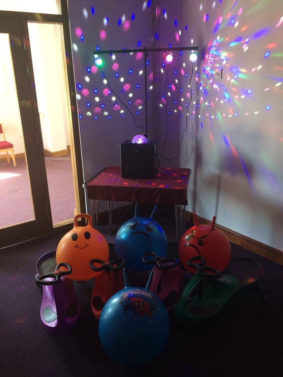 Disco in Thurlby Methodist Church Hall
